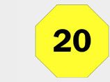 Number icon 20 - right
