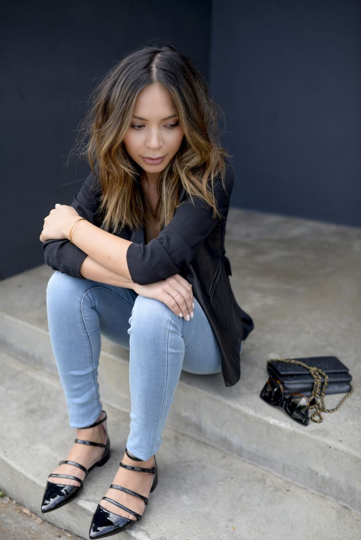 How to Style Light Wash Denim - Life With Me by Marianna Hewitt