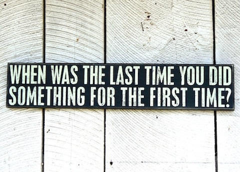 When Was The Last Time...