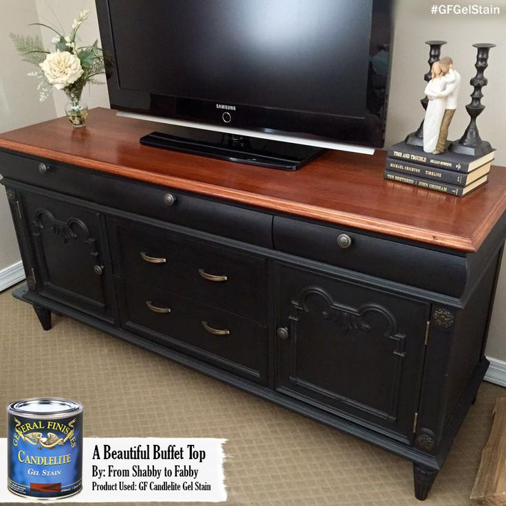 Loving This Buffet Turned Entertainment Stand From Gf User