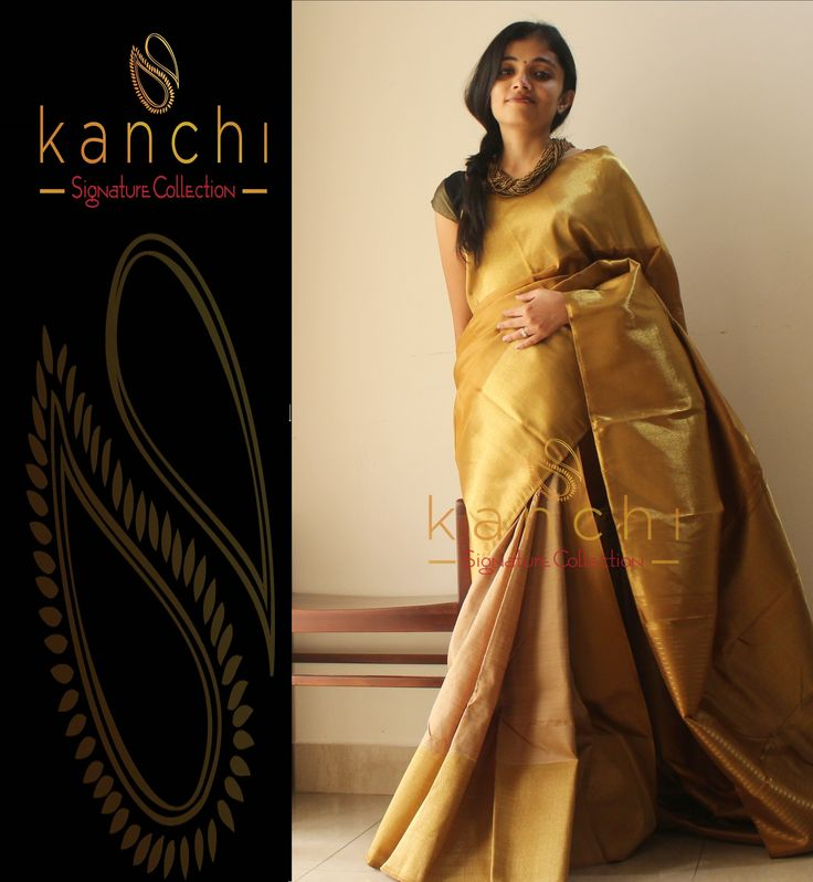 Kanchipuram saree by kanchi signature collection  ------ To place an order-  WhatsApp us at : 09880859041 ------ Email - kanchi.signature@gmail.com