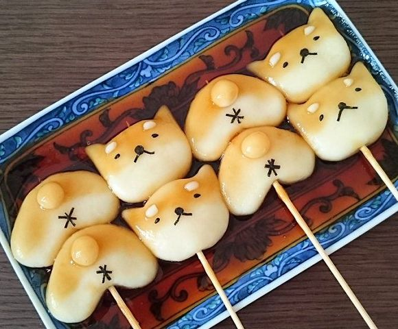 Adorable, edible dog buttholes are part of this new take on traditional Japanesesweets | SoraNews24