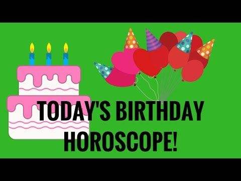 TODAY'S BIRTHDAY HOROSCOPE June 29, 2017  Happy Birthday to everyone born on June 29. This year you will soar …