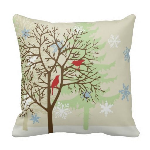 78+ images about Bird Throw Pillows on Pinterest Watercolors, Throw pillows and Blue throw pillows