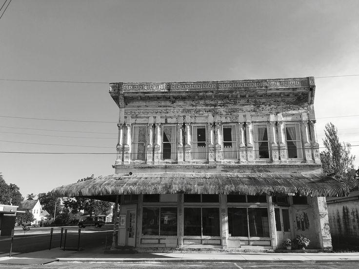 Old Mercantile In Yellville Arkansas