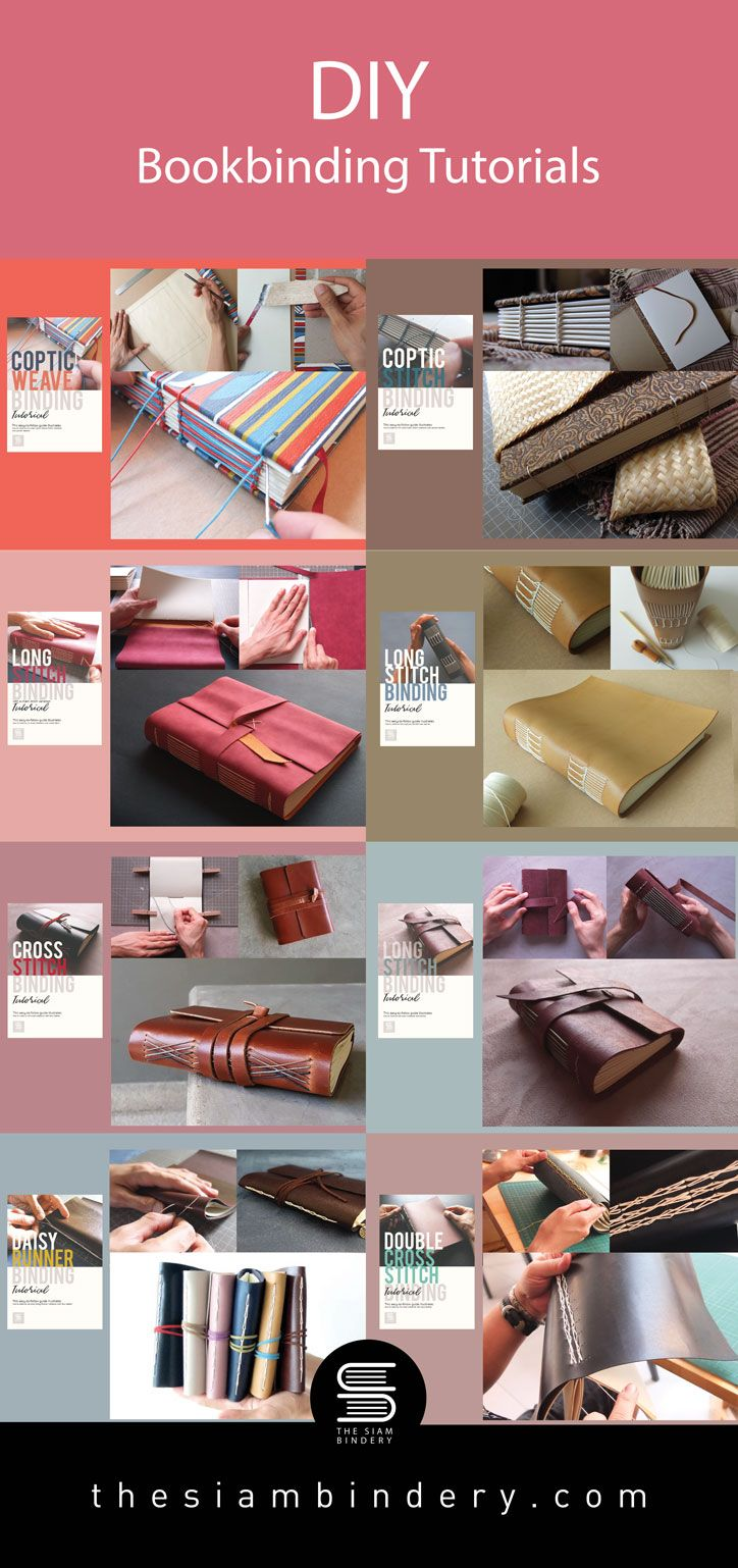 Learn How To Make A Journal Entirely By Hand Book Binding Diy Bookbinding Tutorial Book Binding Methods