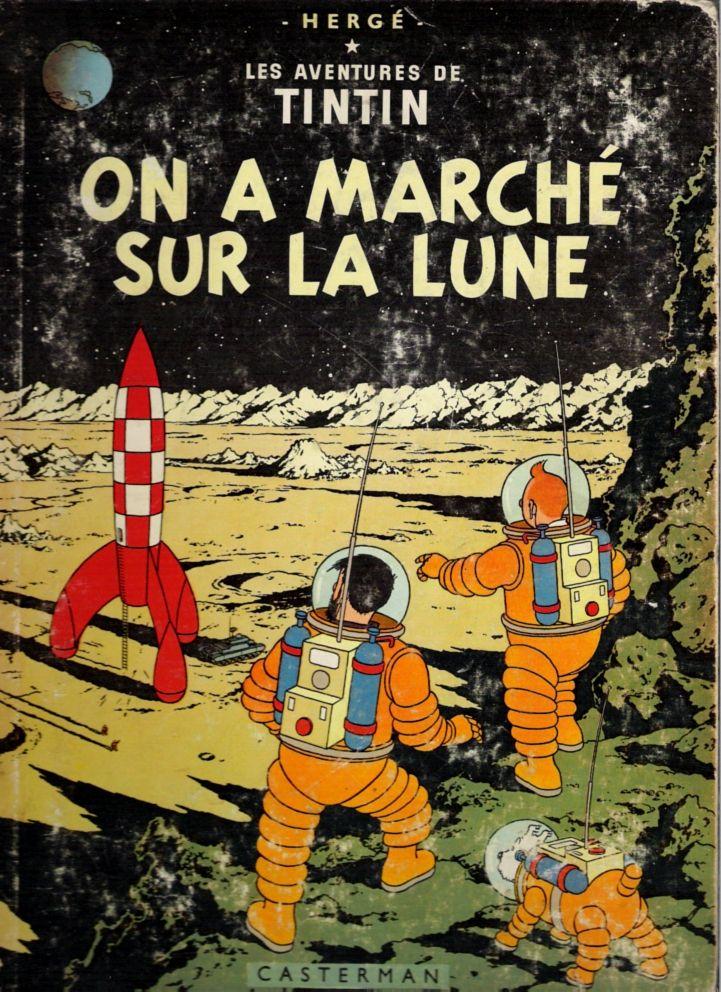 Tintin - Hergé - 1954 http://jpdubs.hautetfort.com/archive/2012/02/25/reliques-bd.html