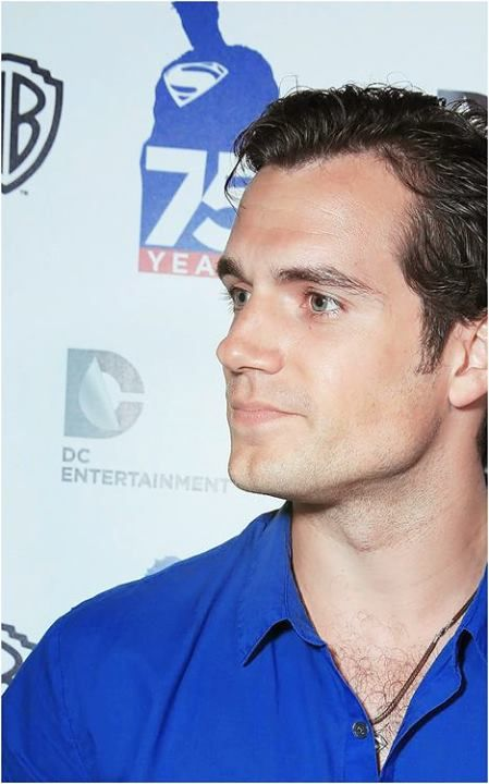 Henry at ComicCon San Diego - Superman 75th Anniversary Party