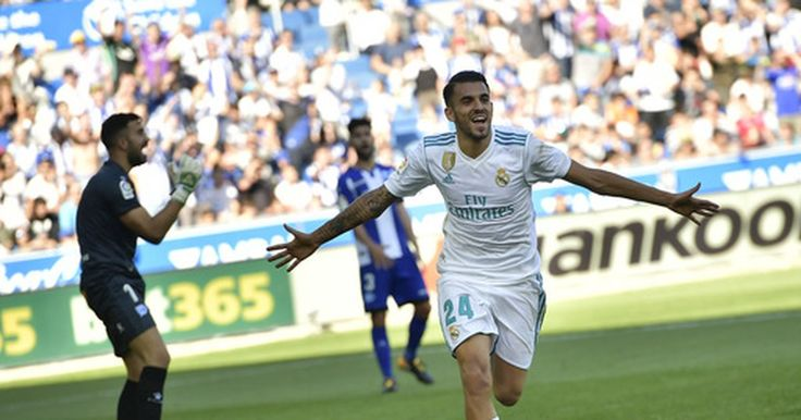 VITORIA, Spain (AP)  Dani Ceballos scored twice in his first start for Real Madrid and helped it earn a much-needed 2-1 win at Alaves in the Spanish league on Saturday.   The win came three days after Madrid lost at home to Real Betis 1-0. This was only Madrid's third win in six rounds.  ...