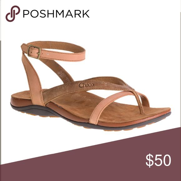 Chaco Sofia Sandal Tan leather Chaco sandal, never worn. Currently for sale for 64.00 on Chaco Website. Chaco Shoes Sandals