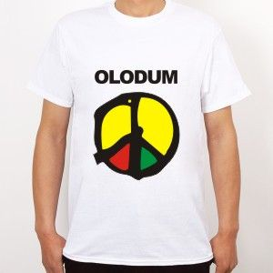 Michael Jackson love and peace theme Olodum T Shirt