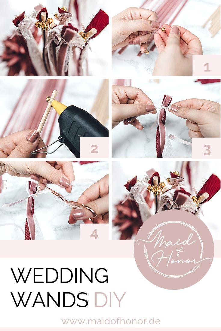 DIY Wedding Wands zur Hochzeit