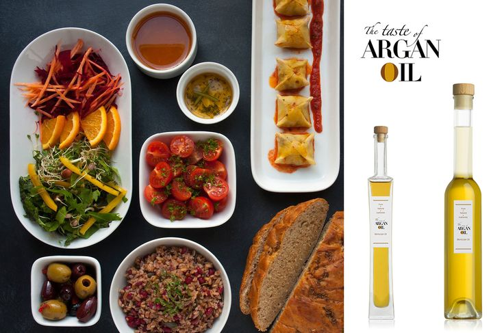 Be like a Gourmet Chef and buy the tastiest Culinary Argan Oil sourced directly from The Taste of Argan Oil's partner cooperatives in Morocco. Vegan Food and photo credit: Poco Culina, who have used our Argan Oil in these dishes (www.pococulina.co.uk).