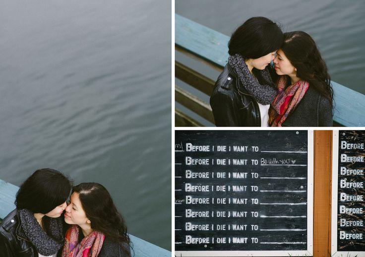 Sechelt engagement photography