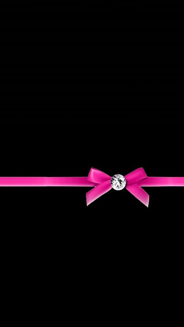 Love Pink Wallpaper Iphone 5 : PINK RIBBON BOW, IPHONE WALLPAPER BAcKGROUND IPHONE ...