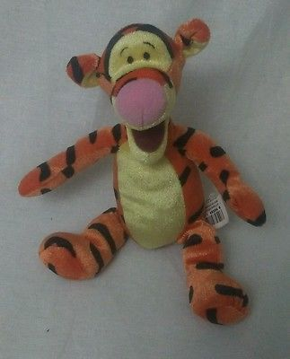 Mini Bean Bag Tigger Sparkle Disney Toy Cute For kids Fun Winnie the Pooh Child