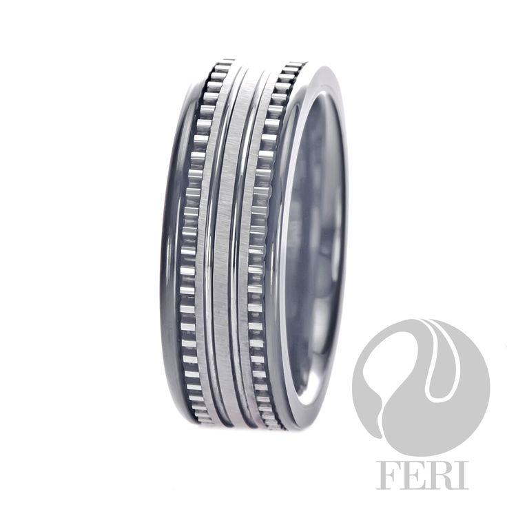 FERI Plangsten - Ring - Plangsten ring - Dimension: 7mm (Width)  FERI Tungsten, Plangsten and Hi-Tech Ceramic collections are unique with deep luster from within. The flawless features and indestructible nature of FERI Tungsten, Plangsten and Hi-Tech Ceramic pieces will create an everlasting beauty and confidence.  www.gwtcorp.com/ghem or email fashionforghem.com for big discount