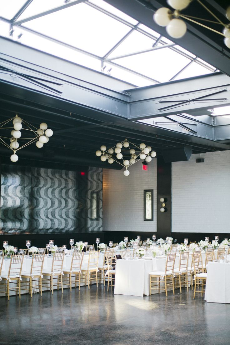 Modern Black Tie Gatsby Inspired Wedding At 501 Union
