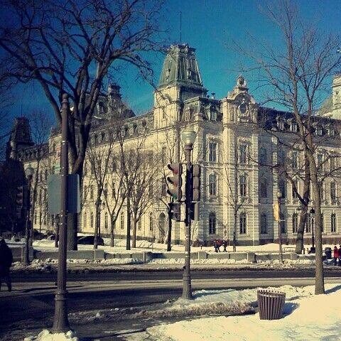 Québec une ville magnifique même avec -32 ❄😅😍😍👌💖