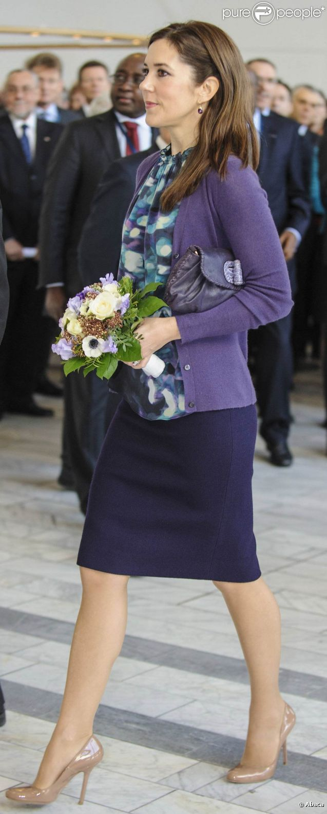 Crown Princess Mary of Denmark, March 2012