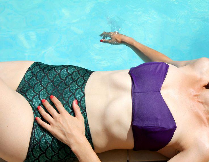 mermaid swimsuit Jolies bobines