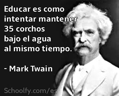 mark twain essay on education Samuel langhorne clemens, also known as mark twain was one of the most famous american writers twain's works are known for their humor and realism to social satire.
