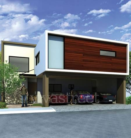 Fachadas de casas modernas fachada minimalista casas for Fachadas contemporaneas
