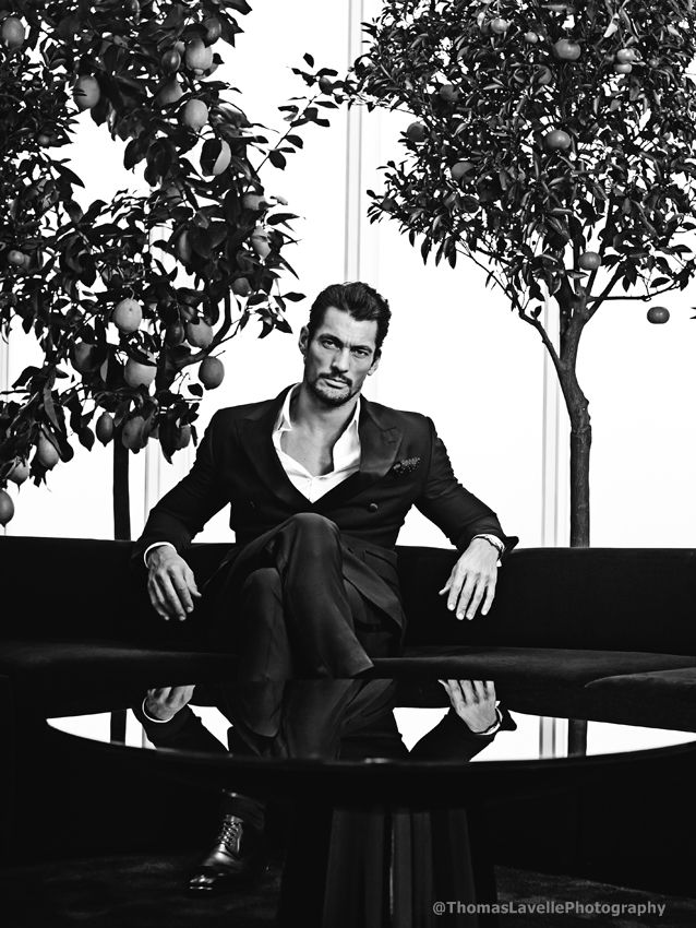 David Gandy for August Man: The Wayfarer's Guide, May 2014 Issue 93. Photographer: Thomas Lavelle