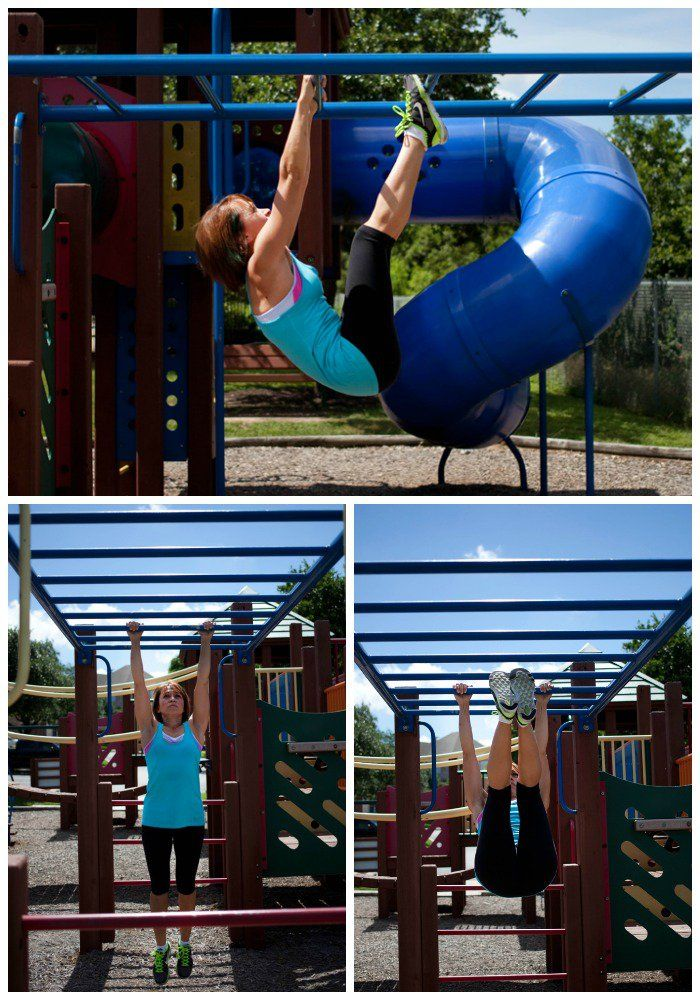 You can get a great workout almost anywhere, this post shows you how to get a total body workout at the park or playground. Perfect for busy moms like me