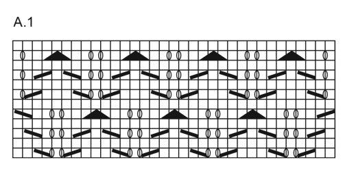 Pitsineuleiset DROPS nilkkasukat Fabel-langasta. Koot 35 - 43. Ilmaiset ohjeet DROPS Designilta.