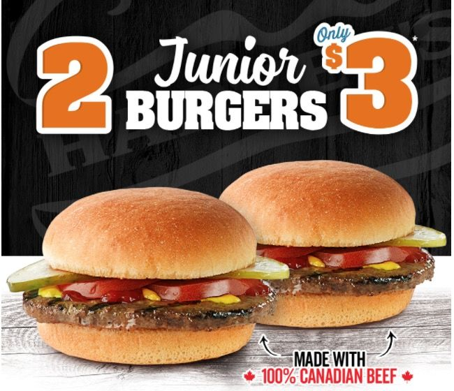 Harveys Restaurants Canada Promotions: 2 Junior Burgers for $3 https://www.lavahotdeals.com/ca/cheap/harveys-restaurants-canada-promotions-2-junior-burgers-3/292876?utm_source=pinterest&utm_medium=rss&utm_campaign=at_lavahotdeals&utm_term=hottest_12