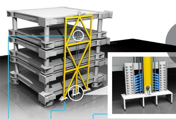 The Earthquake-Resilient Building  - PopularMechanics.com