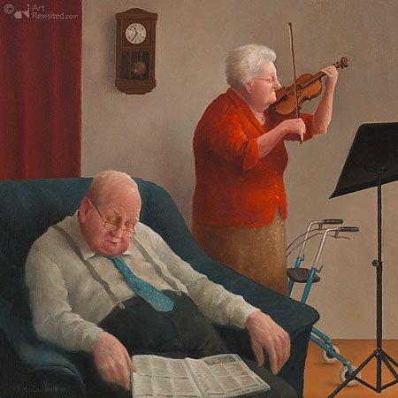 Marius van Dokkum  — Lullaby, 2012  (450x450)