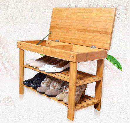 Seated Shoe Rack