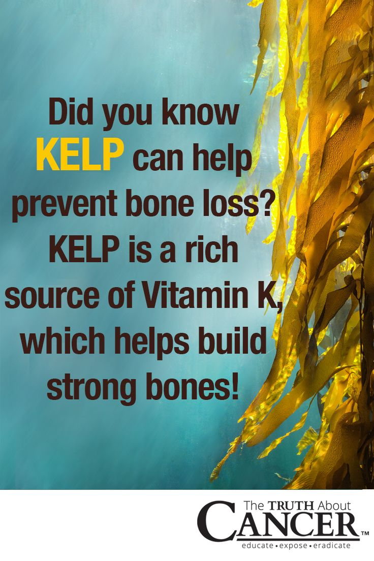 Did you know this about kelp? That it can help prevent bone loss? Kelp is a rich source of Vitamin K, which helps build strong bones! Kelp is a popular ingredient in Asian cuisine, this seaweed varietal is a rich source of vitamins and trace minerals, antioxidants, phytonutrients, amino acids, omega-3s, fiber, and perhaps most significant of all − iodine. Click on the image above to learn more! Please re-pin. Together we can educate the world about healthy lifestyle!