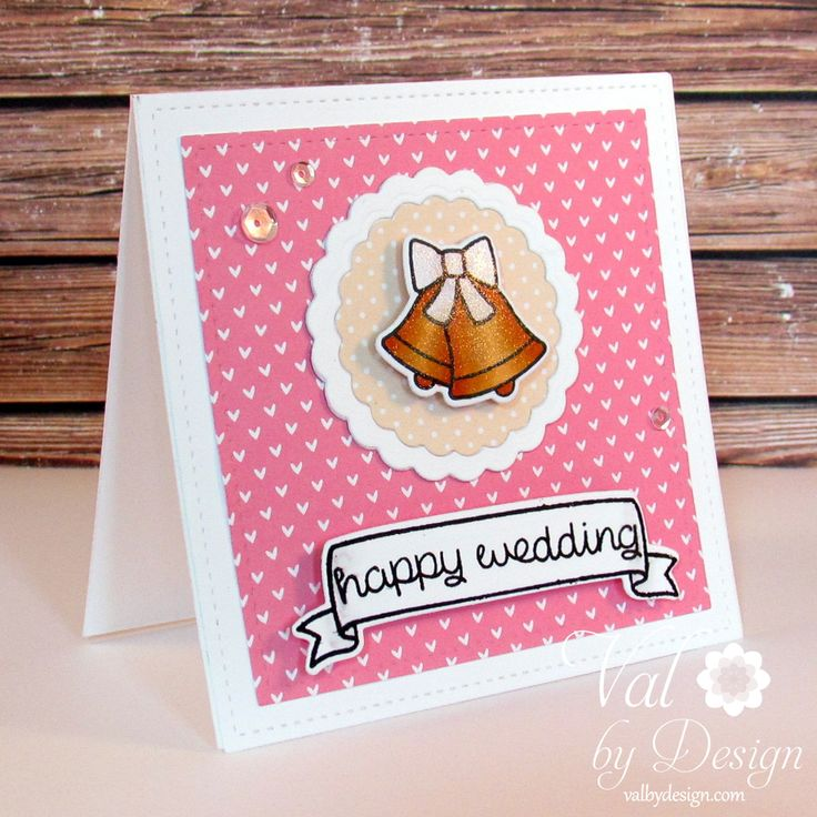 words to write in wedding shower card%0A It u    s Valerie here today  and I made a sweet  u     simple card for today u    s post   u     a x wedding card