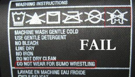 Do not sumo wrestle