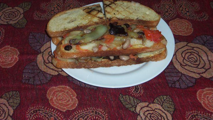 (FR) Sandwichs végétaliens (EN) Vegan sandwiches (ITA) Panini vegani