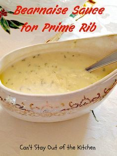 Bearnaise Sauce For Prime Rib   Holiday Dinners 507