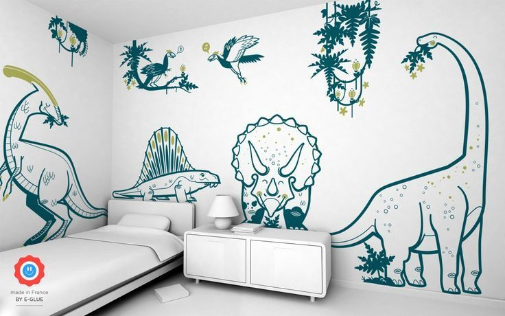 Dinosaurier Kinder Wandtattoos 2 Boys Room Boys