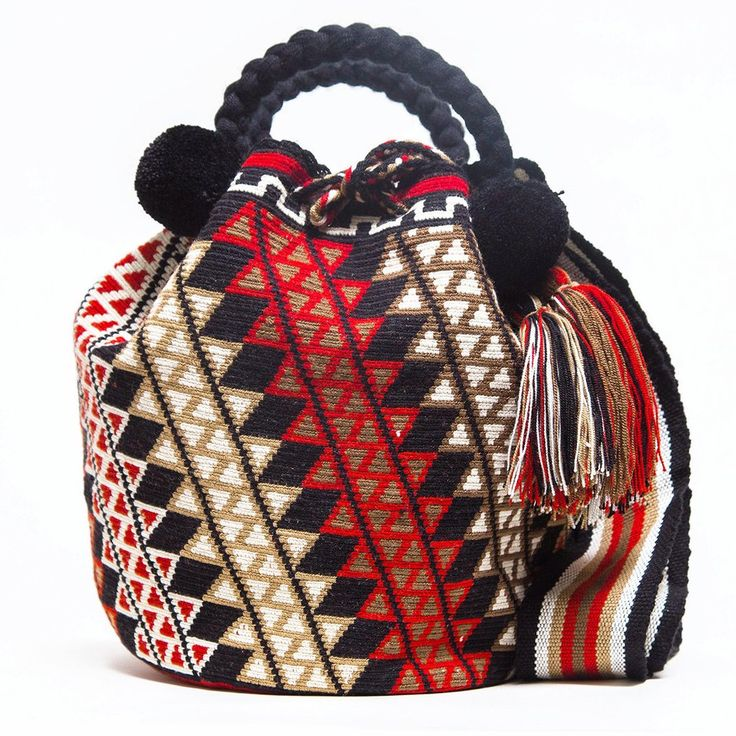 Amazing  Limited Ed. Wayuu Bags New Arrivals. Only One-of-a-kind! www.wayuutribe.com $325.00  #WayuuBags