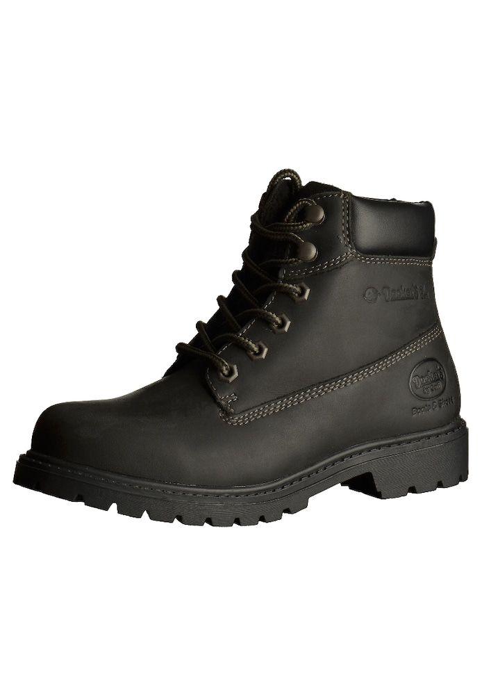Dockers Stiefeletten Damen Schuhe Boots Stiefel schwarz