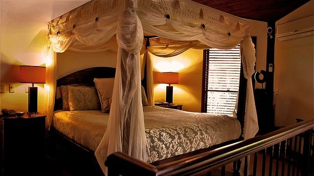 26 best images about master bedroom on pinterest diy - King size canopy bed with curtains ...