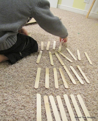 FIAR: Three Names Activities from School Time Snippets
