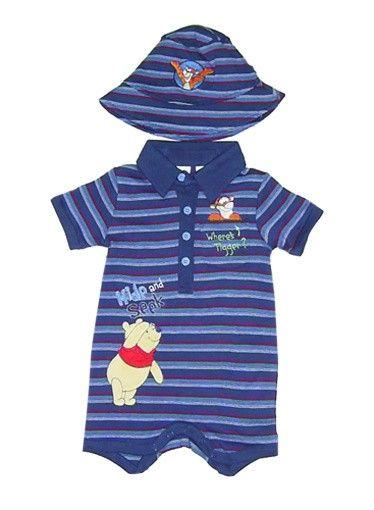 Rosey Kids - Hide and Seek Pooh Baby Boys Romper, $20.00 (http://www.roseykids.com.au/hide-and-seek-pooh-baby-boys-romper/)