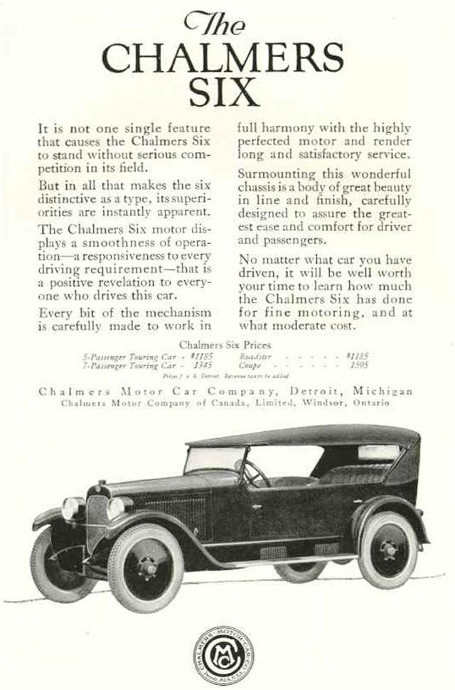 106 best Maxwell Chalmers Motor Company images on Pinterest | Motor ...
