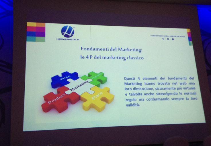 Incontro hotelspeople le 4 P del #marketing  www.hotel-posta.it