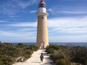 Kangaroo island!Once upon a time there was a lighthouse looking to the Ocean...