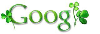 Google Logo - St. Patrick's Day - March 17, 2008