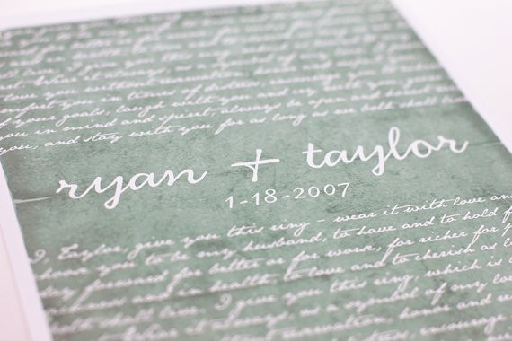 Wedding Vows Gift: 12 Best Images About Wedding Gifts On Pinterest